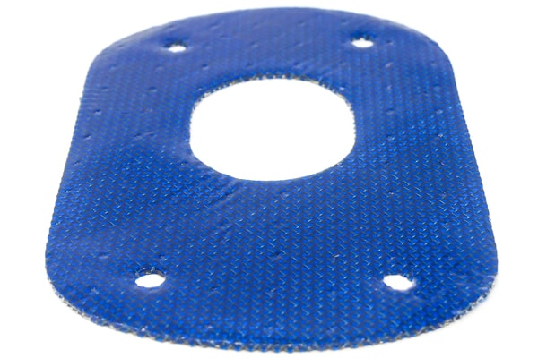 Blue conductive antenna gasket